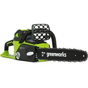 GreenWorks 20292 G-MAX 40V Cordless Chainsaw