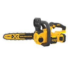 DEWALT 20V MAX XR 12-Inch Battery Powered Chainsaw