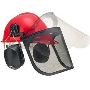 best chainsaw safety helmet